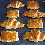 recette petits pains au chocolat et croissants