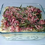 recette Gratin haricots flageolets