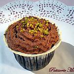 recette Cupcakes choco-pistache