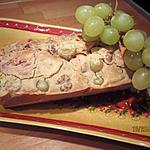 recette cakes aux raisin, jambon et noix sans gluten