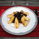 recette Tajine de joues de bœuf aux pommes caramélisées...