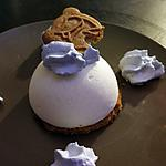 recette bavarois poire sur lit de speculoos
