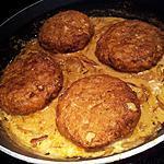 recette Fricadelles de poulet sauce à la biére