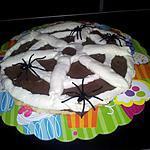 recette La tarte Halloween et sa toile d'araignée
