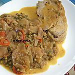 recette Rôti de porc en cocotte et sa sauce octueuse