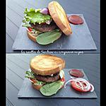 recette Burger toast et son ketchup maison