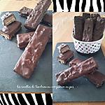 recette Barres chocolatées Lion