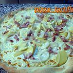 recette PIZZA TARTIFLETTE