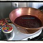 recette Confiture de Mûres sauvages au chaudron