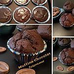 recette Muffins chocolat Valrhôna
