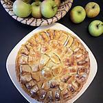recette Tarte normande, délicieuse tarte aux pommes
