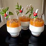 recette Verrines mousse fromage blanc aux fruits