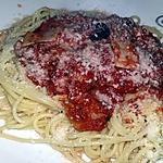 recette Spaghettis a la reine