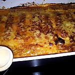 recette Cannellonis à la bolognaise au porc et chorizo