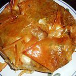 recette Tourte croustillante au boeuf épicé