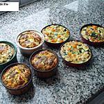 recette Gâteau de légumes aus saveurs de menthe fraîche