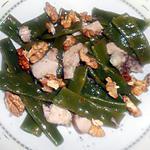 recette SALADE DE HARICOTS PLATS