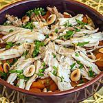 recette Raie aux carottes et amandes façon tajine