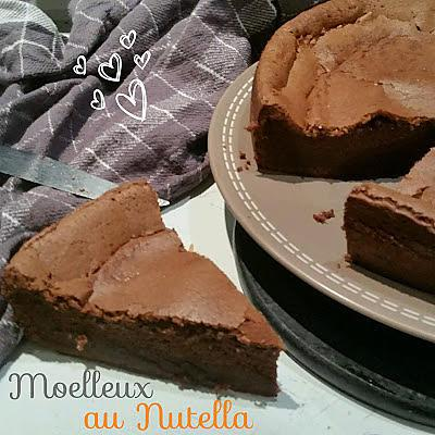 recette de thermomix moelleux au nutella pure et. Black Bedroom Furniture Sets. Home Design Ideas