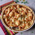 recette Tarte aux légumes et Fol Epi