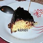 recette Gâteau de riz  à la sauce au chocolat