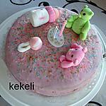 recette Gâteaux aux fruits rouges pour les 1 ans de Lydie
