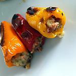 recette Mini-poivrons farcis au chorizo