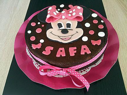 Gâteau Danniversaire Minnie