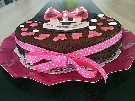 Recette De Gâteau Danniversaire Minnie