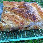 recette Feuilleté à l'émietté de Canard