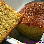 recette cake orange, pavot sans gluten
