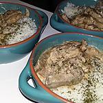 recette Échines de porc sauce satay et son riz parfumé