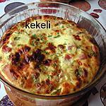 recette Clafoutis au jambon et gruyère