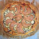 recette Tarte fine courgettes /scamorza fumée