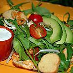 recette Salade composée et avocat