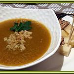 recette Velouté de Potiron, Poivron vert et Tomates