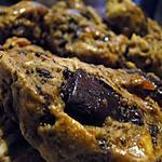 recette Biscuits chocolat-amandes-marsala