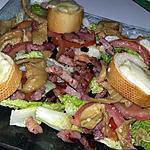 recette Salade aux saveurs de ma Mamie