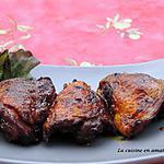 recette Hauts de poulet aux épices et miel