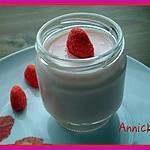 recette yaourt à la fraise Tagada ®