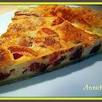 recette quiche au chorizo & tomates