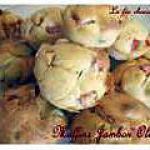 recette muffins jambon olives