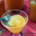 recette Confiture de pommes au gingembre confit