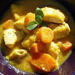 recette poulet aux légumes façon indienne