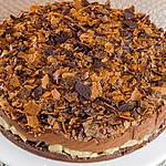 recette Croustillant poire chocolat