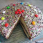 recette Gâteau Multicolor