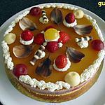 recette bavarois fraises/insert fruits de la passion