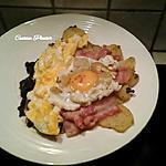 recette Duo d'œufs avec reste, tout simple tout appétissant !