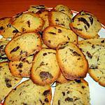 recette MADELEINES AU CHOCOLAT ECLATS DE CITRON