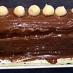 recette bûche poire /chocolat